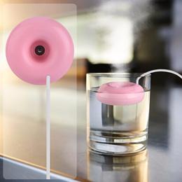 공기 확산 기 도나츠 가습기 USB 분무 가습기 초음파 가정용 방향 가습기 청정 기