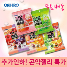Orihiro konjac jelly pouch 6 pieces / 12 pieces 8 flavors!