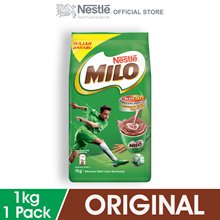 [Grab coupon save more] NESTLE MILO ACTIV-GO CHOCOLATE MALT POWDER Softpack 1kg