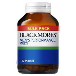 Blackmores Mens Performance Multi Bulk Pack 150 Tablets