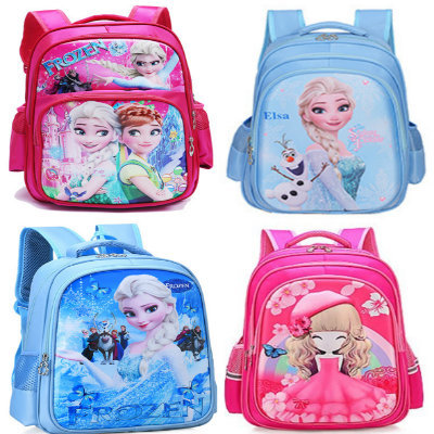 a1c724b07d Good Quality Children School Bags Cartoon Frozen Elsa Princess Primary  Backpack Boy Girl Hello Kitty