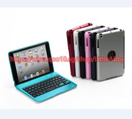 Wireless Bluetooth 3.0 Ultra Slim Thin Keyboard Detachable Hard Case Cover For Apple iPad mini 1 2 3