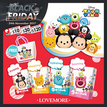 【LOVEMORE】LIMITED EDITION DISNEY Tsum Tsum Mask ♥ Lifting EffectRepairingMoisturizingSoothing A01