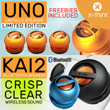 Christmas Special Promo !! BLUETOOTH VERSION ! - X-mini™ Limited Edition UNO / KAI 2 Capsule Speaker