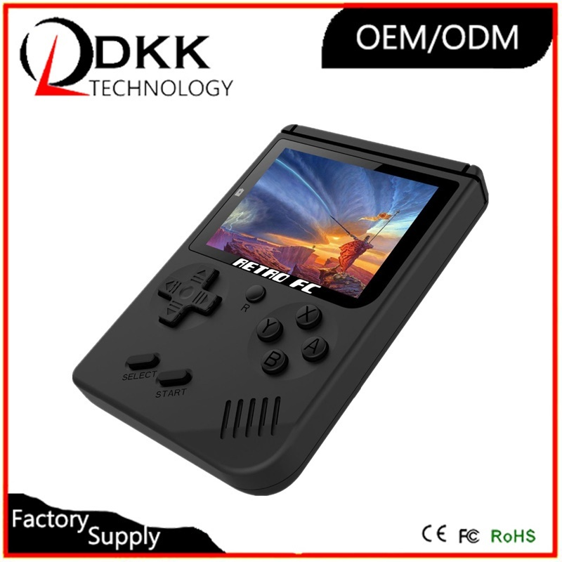 Newest Retro mini Handheld Game Console 3 Inch with 168 Games Classic 8 bit  classic Game Player buil