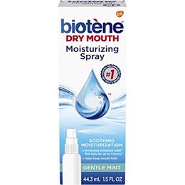 [BIOTÈNE] Biotene Gentle Mint Moisturizing Mouth Spray, Sugar-Free, for Dry Mouth and Fresh Breath,