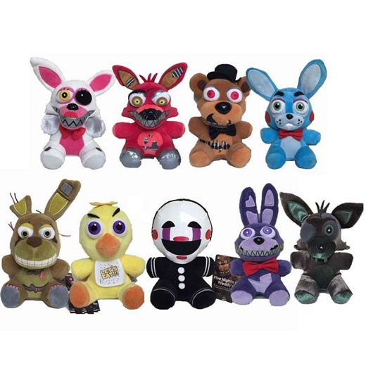 Fnaf chica in panties and socks Qoo10 New 7 18cm Fnaf Five Nights At Freddy S Chica Bonnie Foxy Plush Doll Maternity Baby P
