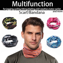♥SPORTS SCARF BANDANA♥ NEW CAMO DESIGN! Multi Function Head Neck Wear cyclist Sg Seller