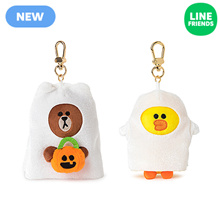 [LINEFRIENDS]HALLOWEEN BAG CHARM GHOST SERIES_12CM