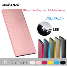 [READYSTOCK] ASKNUT Powerbank Tianshu mobile power 20000 mAh polymer charging treasure