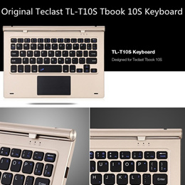 Original Teclast TL - T10S Tbook 10S Keyboard Magnetic Docking Pogo Pin (Color: Gold)