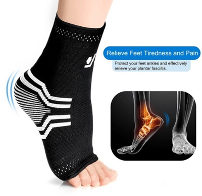 020a87c97ab Plantar Fasciitis Socks Compression Sock Sleeve with Arch Ankle Support -  Boost Circulation Redu