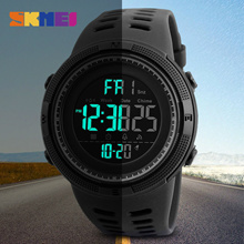 High Quality Children Watches Skmei Sports Dual Display Wristwatches 5atm Water-proof Kids Watches With Alarm Chronograph Aromatic Flavor Children's Watches