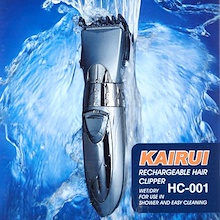 Kairui Rechargeable Hair Clipper Shaver Trimmer HC-001 Wet and Dry for use in Shower and Easy Clean