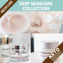 [medicube] deep skincare collection/Erasing Cream/Triple Hyaluronic Ampoule/Essence/Triple Collagen