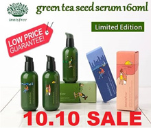 (2018 Eco Hankie Limited Edition) Award Winner! Innisfree -The Green Tea Seed Serum 160ml
