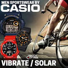 [BUY] CASIO GENUINE Analog/Digital/Hybrid Watch For The Sporty Look! *FREE Qxpress + 1 Yr Warranty!*