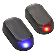 1PCS Car Led Light Security System Warning Theft Flash Blinking Fake Solar Car Alarm LED Light