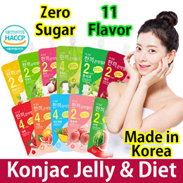 ★slimming★ Delicous Meal Konjac Jelly / Diet / Zero Sugar / Low Calorie / Kfood/Collagen