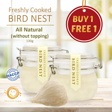 [MOTHERS DAY][❤BUY 1 FREE 1 ❤] Freshly Cooked Bird Nest ★Receive Warm★ Pristine Farms FREE SHIPPING