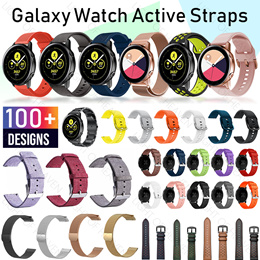 SAMSUNG Galaxy watch active 42 46mm strap accessories screen protector tempered glass film 表带