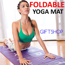★Foldable Gym Sports Exercise Picnic Travel Yoga Mat ETC Mothers Day Gift Premium Quality★PVC