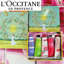 LOCCITANE HAND CREAM GIFT SET 30ML x5 PIECE Limited Edition Christmas Gift Sets