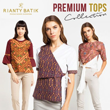 👚 Rianty Batik - Year End Promo - 80% Off - Premium Quality Batik - Women Tops 👚