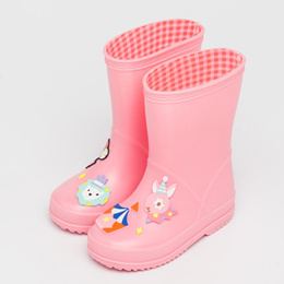 authentic Yeafey Kids Rubber Rain Boots Children PVC Shoes Baby Girls Candy Jelly Cute Rain Shoes Re