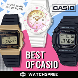 f69b0173da WatchSpree - Ranked as Qoo10's No. 1 Powerseller for Watches for the ...