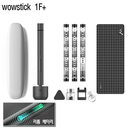 wowstick 1F+ 와우스틱 1F+ 전동+수동 드라이버/휴대용 전동 드라이버