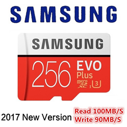 Samsung Evo Plus Sandisk Ultra 256GB MicroSD Memory Card up to 100MB/s U3 A1 Camera Phone GoPro SD