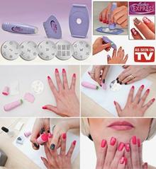 Salon Express Nail Art Stamping kit | Alat penghias kutek