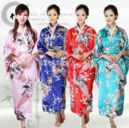 Japanese kimono Suit Womens Wafuku Kimono Yukata Koshihimo layering Uchikake cosplay lady Floral Pri