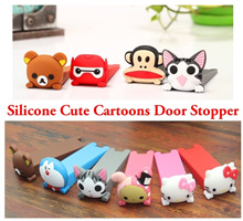 Silicone Cute Cartoons Door Stopper / Child Safety Door Stopper {Fast Delivery}