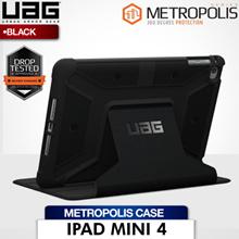 UAG iPad Mini 4 Folio Case (Black/Black)