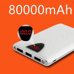 80000mAh/30000mAh/20000mAh Portable External Battery Charger Power Bank For Cell Phone