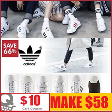 [ADIDAS]MAKE $58 Oct update 40 TYPE Superstar / Stan smith  shoes collection / Free shipping