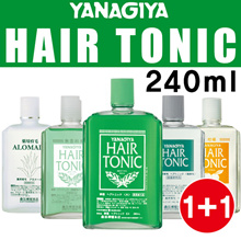 [YANAGIYA 1+1 DEAL ] Hair Tonic Scalp Care 240ml / Prevent Hair Loss/ Made In Japan