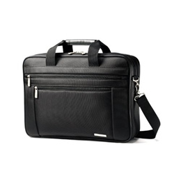 Samsonite Classic Two Gusset 17 Toploader (Black)