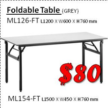 [MegalineSG] Foldable Table . Office Furniture . Home Deco . Writing Table . Event . Multi-Purpose .