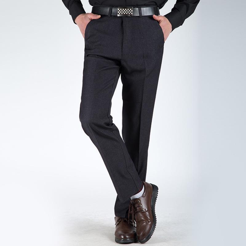 bbc04d882d fit to viewer. prev next. discount For Slim Fit Suit Vestir hombre Formal  Pantalon Homme Classique men ...