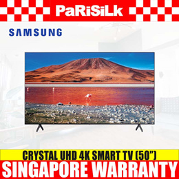Samsung UA50/55/65TU7000KXXS Crystal UHD 4K Smart TV (50/55/65inch) - 4 Ticks (3 Years Warranty)