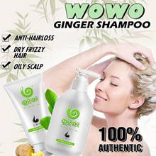 [BUY 1 GET 1 FREE] 100% AUTHENTIC! WOWO pure ginger shampoo health hair formula