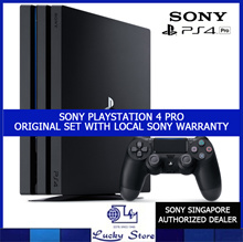 ORIGINAL SONY PS4 PRO * PLAYSTATION 4 PRO * LOCAL SONY WARRANTY SET * CUH-7007B * 1TB CAPACITY