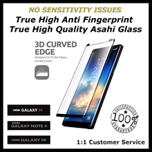 ★The Best★No Sensitivity Issues★Fits ALL Best Anti Fingerprint★Full Cover Fits All 3D Tempered Glass