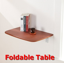 Multi-purpose Wall Table For Space utilization/ Foldable Wall Table (600 x 400mm)