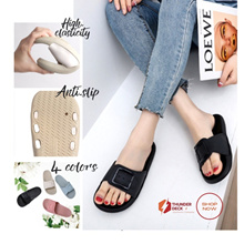 LADIES SANDALS I FASHIONABLE SLIPPERS I OUTDOOR BEACH SLIPPERS I BREATHABLE SOFT SANDALS