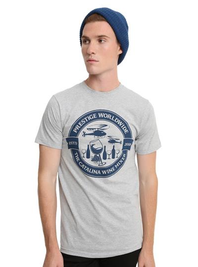 8a8dbbb06 Fashion Men s T-Shirt STEP BROTHERS PRESTIGE WORLDWIDE CATALINA WINE MIXER T -SHIRT
