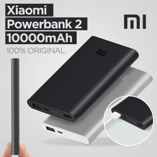Original Xiaomi 10000mAh Power Bank 2 Deals for only Rp239.000 instead of Rp239.000